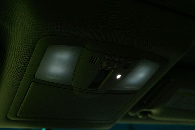 Ledルームランプのゴースト点灯を解決する方法